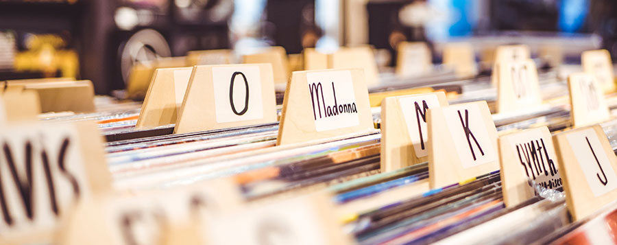 Organising your vinyl collection? How do you sort yours?