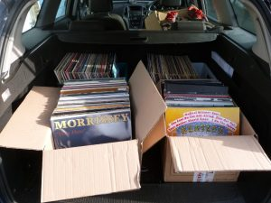 Car full of Records