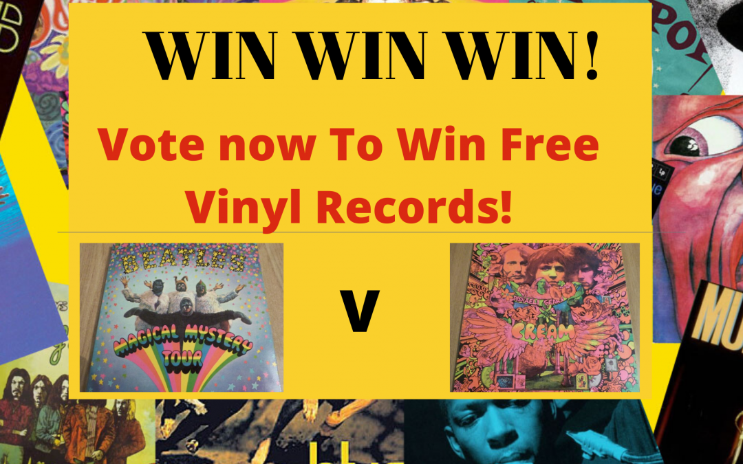 Win Vinyl Records – Sell Vinyl Records – Competition – 1960's.