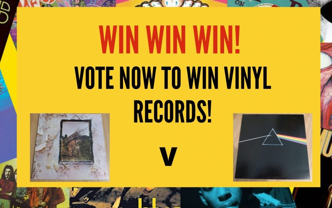Sell Vinyl Records Competition – Win Vinyl
